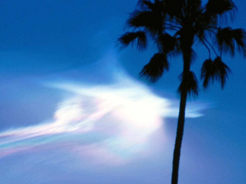 Rocket Clouds At Dusk, Pasadena, California