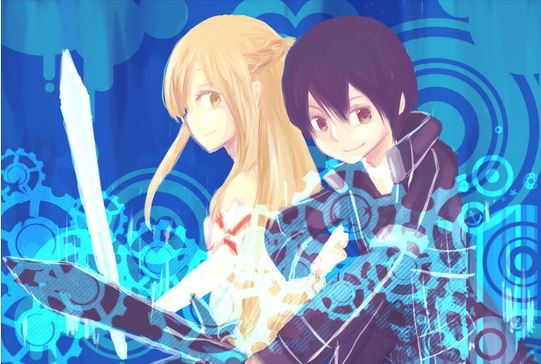 Japanese anime - Sword Art Online